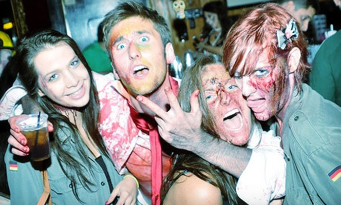 Lazyday.com - First Ward: Uptown Charlotte's 1st Annual Zombie Bar Crawl for Two or Four on Saturday, April 13, from Lazyday.com (Up to 58% Off)