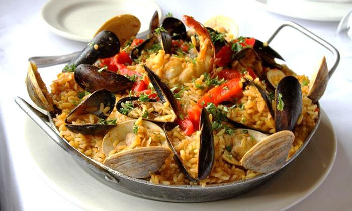 Cervantes of Spain - Garwood: Spanish Cuisine for Dinner for Two or Four at Cervantes of Spain (Up to 55% Off)