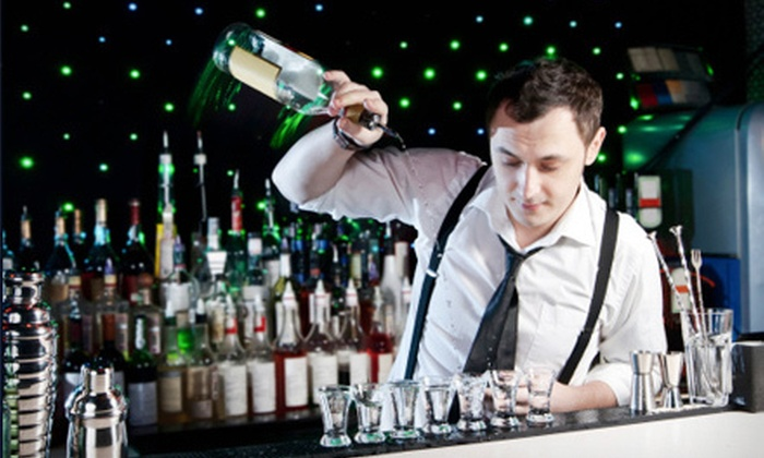 Professional Bartending Institute - Westbury: Four-Hour Mixology Class for One or Two at Professional Bartending Institute in Greensboro (64% Off)
