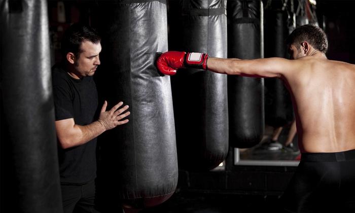 Manager Sports - Manager Sports Trainingshalle: 4 Wochen Box-Training für 1 oder 2 Personen bei Manager Sports (bis zu 61% sparen*)