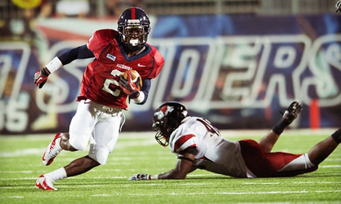 University of Richmond Athletics - Robins Center: University of Richmond Spiders Homecoming Football Game for One or Four at Robins Stadium on Saturday, November 3