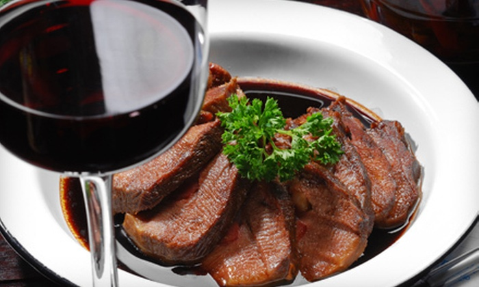 Cravings Wine Bar & Grille - Woodbury: $15 for $30 Worth of Burgers, Pasta, and Drinks at Cravings Wine Bar & Grille