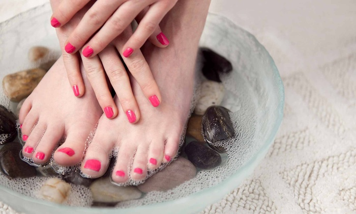 Dr. Steven Bennett and Associates - Little Italy: Mani-Pedi Package from Dr. Steven Bennett and Associates (Up to 81% Off).