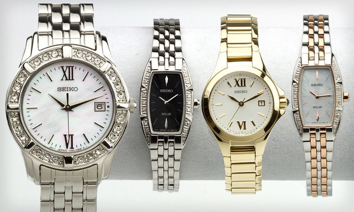 Seiko Women's Watches: Seiko Women's Watches (Up to 80% Off). Six Options Available. Free Shipping and Free Returns.