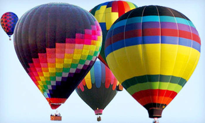 Airbus Balloon Rides - Van Buren: Hot Air Balloon Ride and Factory Tour with Champagne Toast for One or Two from Airbus Balloon Rides (Up to 53% Off)