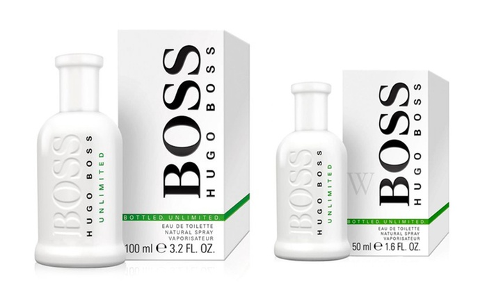 Up To 60 Off On Hugo Boss Eau De Toilette Groupon Goods