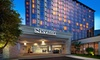 Upscale Hotel Near the Galleria Boutiques - Dallas, TX: Stay with Daily Buffet Breakfast and WiFi at Sheraton Dallas by the Galleria in Dallas, with Dates into March