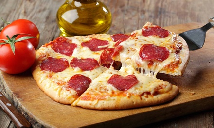 Pizza Meals for Two, Four, or Six or Medium Pizza for Takeout at WannaGetta Pizza (Up to 52% Off)