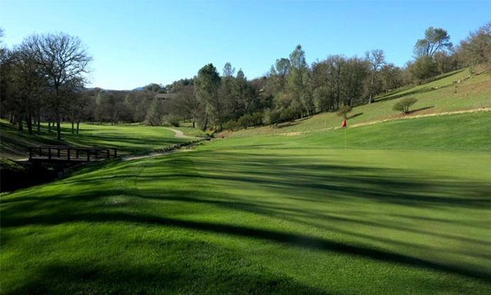 Hidden Valley Lake Golf Course - Hidden Valley Lake: $39 for an 18-Hole Round of Golf with Cart and Bucket of Range Balls for One ($62 Value)