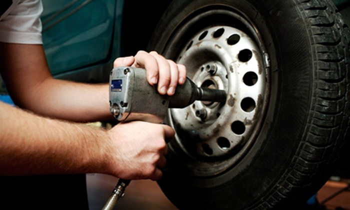 Meineke Car Care Center - Far North Dallas: $34 for a Full Wheel Alignment at Meineke Car Care Center ($69.95 Value)