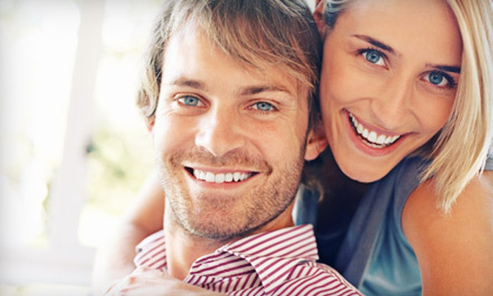 Calm Dental - Calm Dental: Dental Checkup with X-rays, Rembrandt Sapphire Teeth Whitening with Consult, or Both at Calm Dental (Up to 85% Off)