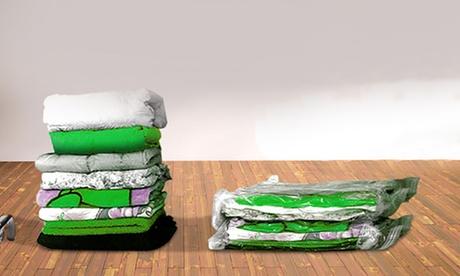 Bolsas o fundas al vacío para ahorrar espacio