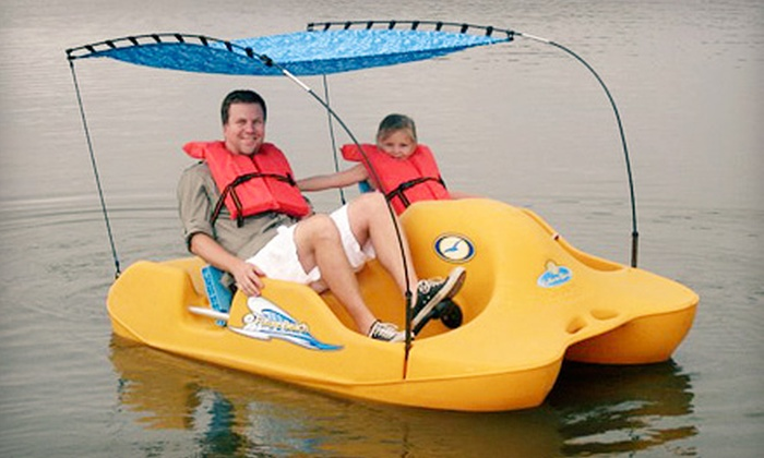 Ocean Water Beach Rentals - Highlands/Perkins: Season Rental Pass for Hydrobikes, Pedal Boats, and Kayaks from Ocean Water Beach Rentals (Up to 76% Off)