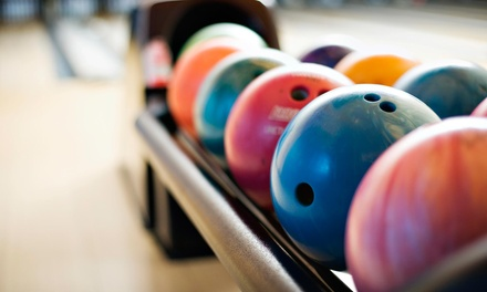 Two Games of Bowling, Shoe Rentals, Pizza, and Beer or Soda for Two or Four at Beach Bowl (Up to 59% Off)