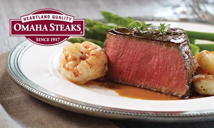 Omaha Steaks Inc. **NAT**: Holiday Steak Combo Pack from Omaha Steaks (Up to 73% Off). Two Options Available.