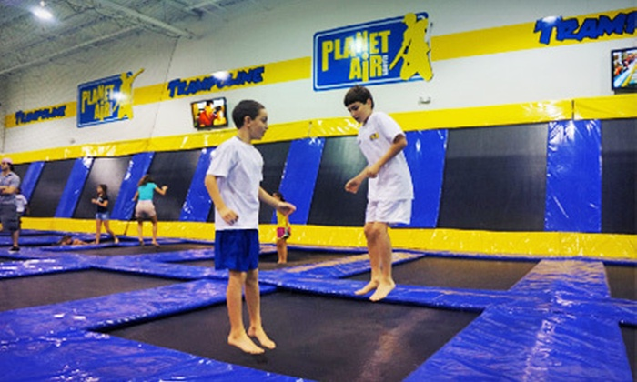Planet Air Sports - Deerfield Beach: $29 for an Indoor Trampoline Park Adventure at Planet Air Sports ($59.50 Value)
