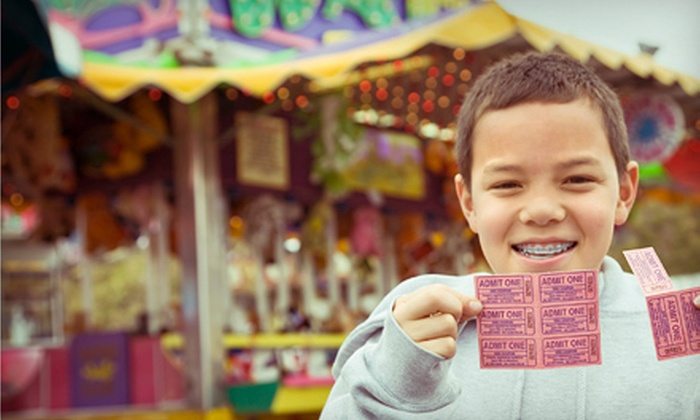 Oakland County Fair - Oaks County Park: $21 for One Day at Oakland County Fair for Four with Any Grandstand Event and Parking in Davisburg (Up to $42 Value)