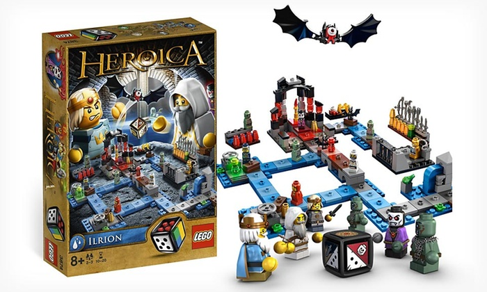Lego heroica ilrion boardgame groupon goods for 12 in 1 game table groupon