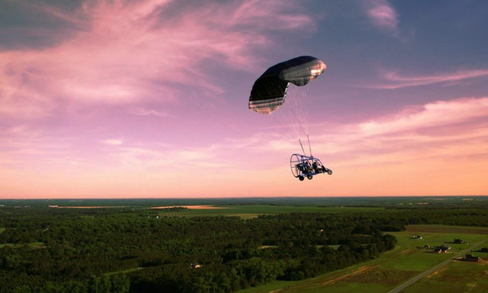 Peach State Powered Parachutes -  Moultrie Municipal Airport : $65 for a 15-Minute Powered-Parachute Flight from Peach State Powered Parachutes ($130 Value)