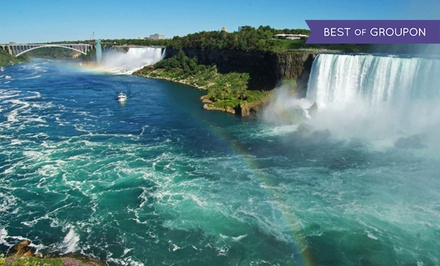 Stay with Dining Package at Ramada Hotel Niagara Falls Fallsview in Ontario. Dates into May.