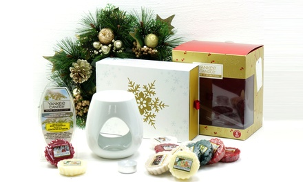 Yankee Candle Christmas Melt Warmer Gift Set