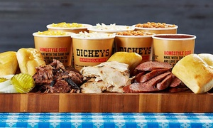 Dickey's Barbecue Pit: $6 for $16 Worth of Pit-Smoked Barbecue and Homestyle Sides at Dickey's Barbecue Pit