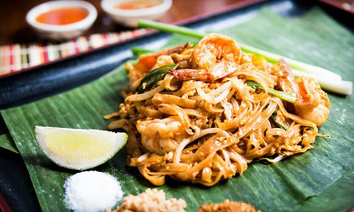 Tue Thai Food - Downtown,Greenwich Village,Midtown,NoHo,Soho,West Village: Thai Fare at Tue Thai Food (Half Off). Two Options Available.