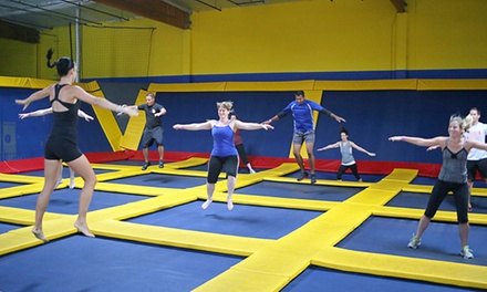 Two Hours of Jump Time at Sky High Sports (Up to 44% Off). Two Options Available.