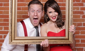 MiHi Photo Booth: Three-, Four-, or Five-Hour Photobooth Rental from MiHi Photo Booth (Up to 56%Off)