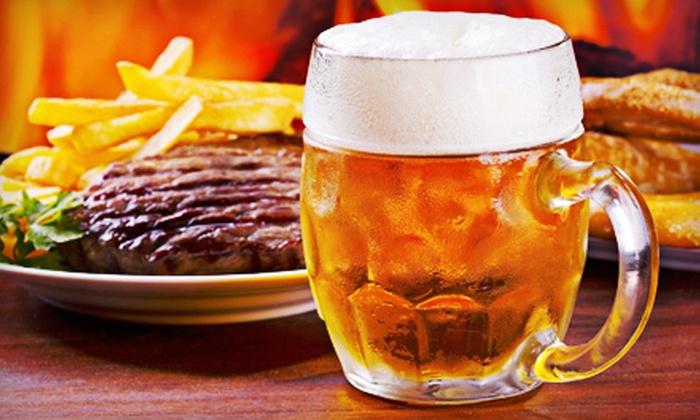 Grattan Irish Pub - Grattan: $8 for $16 Worth of Pub Fare and Drinks at Grattan Irish Pub