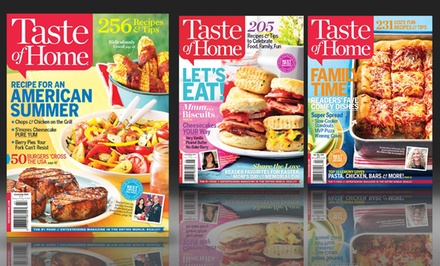 1-Year, 7-Issue Subscription to Taste of Home