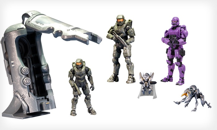 Halo Action Figures: Halo Action Figures or Sets (Up to Half Off). Three Options Available. Free Shipping and Free Returns.
