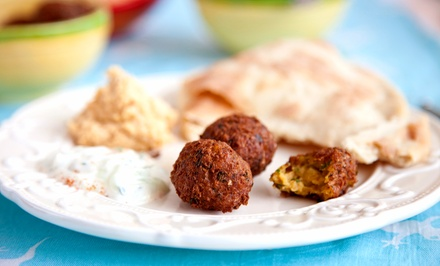 Middle Eastern Food for Two, Four, or Six at Al-Sham Restaurant (50% Off)
