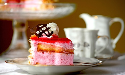 Afternoon Tea with Optional Glass of Prosecco or Cocktail for Two at Brown's Cafe, Bistro and Bar (Up to 43% Off)