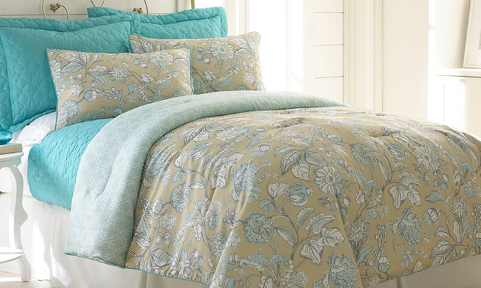 6-Piece Comforter and Coverlet Set: $59.99 for a 6-Piece Reversible Comforter and Coverlet Set (Up to $299 List Price). 4 Designs. Free Shipping & Returns.