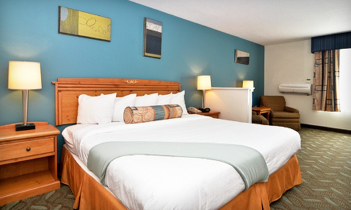 One-, Two-, or Three-Night Stay for Two at Best Western Plus (Up to Half Off). Two Locations Available.