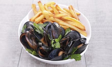 Moules, sardines ou gambas à volonté pour 2 ou 4 personnes dès 12,90 € chez La Moule De Carnon