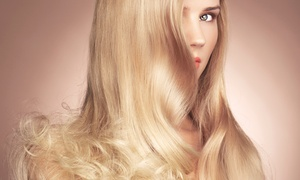 Shuggshack: Haircut with Optional Partial or Full Color or Brazilian Blowout at Shuggshack (Up to 60% Off)