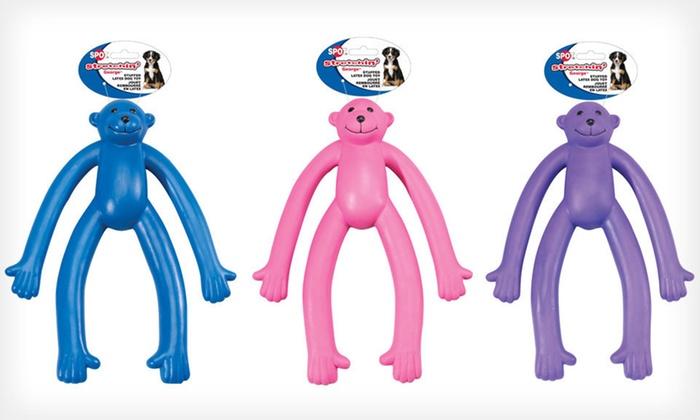 Stretchin' George Stuffed Latex Dog Toy: $14 for a Stretchin' George Stuffed Latex Dog Toy ($20.99 List Price). Free Returns.