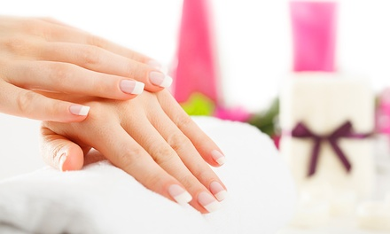 European Facial with Optional Manicure and $7 Voucher at About Face Beauty Spa (Up to 52% Value)