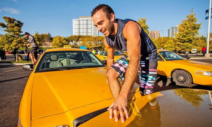 Men's Health Urbanathlon -  Soldier Field – South Lot (Burnham Harbour Drive): $95 for Entry to Men's Health Urbanathlon 10-Mile Obstacle Race ($125 Value)