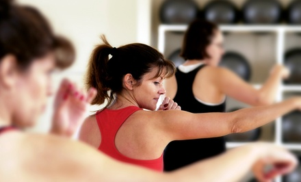 One- or Two-Month Gym Membership with the Initiation Fee and Unlimited Classes at Club Metro (Up to 81% Off)