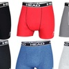 Head Men's Cotton Boxer Briefs (3-Pack)