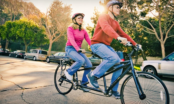 We Cycle NYC - Bedford - Stuyvesant: One- or Two-Day Rental of a Regular Bike or a Tandem Bike from We Cycle NYC in Brooklyn (Up to 56% Off)