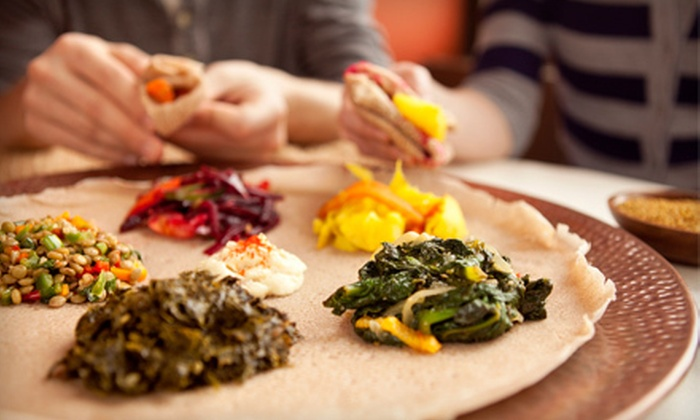 Zoma - Central Harlem: $19 for $40 Worth of Ethiopian Food at Zoma