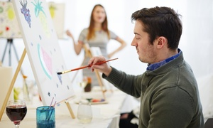 Boyavino: Two-Hour BYOB Painting Class for One or Two at Boyavino (Up to 62% Off)