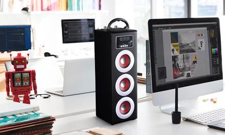 Cassa acustica amplificata con 3 altoparlanti da 3 W