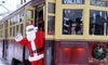 The Shore Line Trolley Museum - East Shore: Holiday Trolley Ride with Santa for Two or Four at The Shore Line Trolley Museum (Up to 52% Off)