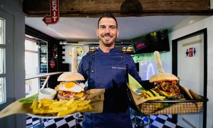 Spezial Burger für 2 oder 4 Personen in Leslies American Diner (bis zu 40% sparen*)