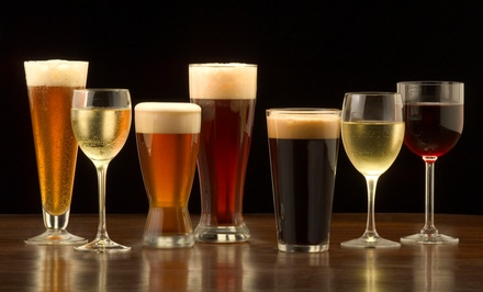 Admission to Beer and Wine Tasting for Two, Four, or Six from SKAL - Wine & Beer Tastings (50% Off)